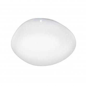 EGLO 98228 | EGLO-Access-Sileras Eglo mennyezeti Access lámpa kerek távirányító szabályozható fényerő, állítható színhőmérséklet, időkapcsoló, éjjelifény 1x LED 3300lm 2700 <-> 6500K fehér, kristály hatás