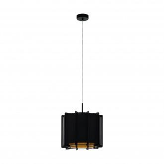 EGLO 98341   Pineta Eglo függeszték lámpa 1x E27 fekete, arany