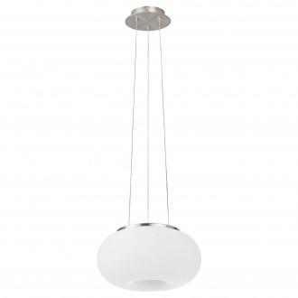 EGLO 98371   EGLO-Connect-Optica Eglo függeszték okos világítás szabályozható fényerő, állítható színhőmérséklet, színváltós, távirányítható 1x LED 2900lm 2700 <-> 6500K matt nikkel, opál