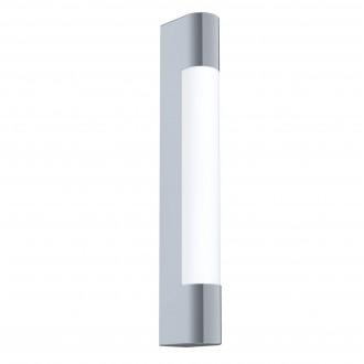 EGLO 98442 | Tragacete Eglo fali lámpa téglatest 1x LED 770lm 4000K IP44 króm, fehér