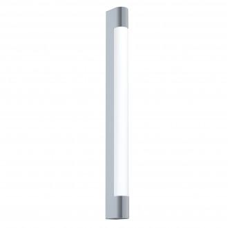 EGLO 98443 | Tragacete Eglo fali lámpa téglatest 1x LED 1500lm 4000K IP44 króm, fehér
