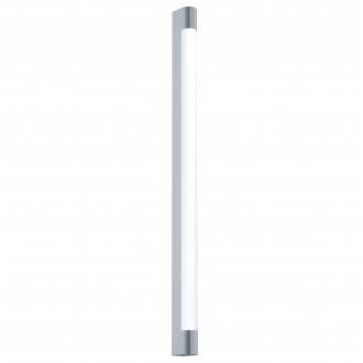 EGLO 98444 | Tragacete Eglo fali lámpa téglatest 1x LED 2270lm 4000K IP44 króm, fehér