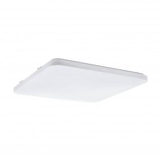 EGLO 98447 | Frania Eglo mennyezeti lámpa négyzet 1x LED 5700lm 3000K fehér
