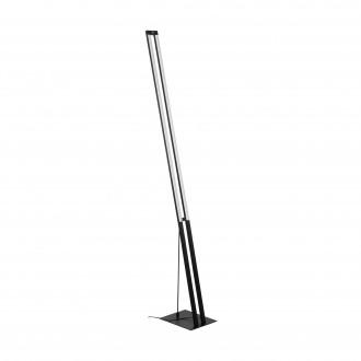 EGLO 98493 | Amontillado Eglo álló lámpa 160cm érintőkapcsoló 1x LED 2600lm 3000K fekete, fehér