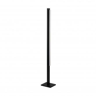 EGLO 98498 | Spadafora Eglo álló lámpa 159,5cm érintőkapcsoló 1x LED 2150lm 3000K fekete, átlátszó
