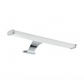 EGLO 98501 | Vinchio Eglo tükörmegvilágító lámpa 1x LED 900lm 3000K IP44 króm, fehér