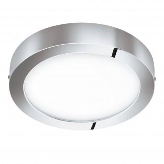 EGLO 98559 | EGLO-Connect-Fueva Eglo fali, mennyezeti okos világítás kerek szabályozható fényerő, állítható színhőmérséklet, színváltós, távirányítható 1x LED 2800lm 2700 <-> 6500K IP44 króm, fehér