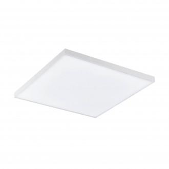 EGLO 98562 | EGLO-Connect-Turcona Eglo mennyezeti okos világítás kerek távirányító szabályozható fényerő, állítható színhőmérséklet, színváltós 1x LED 1800lm 2700 <-> 6500K fehér