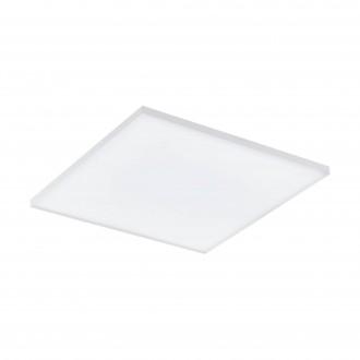 EGLO 98563 | EGLO-Connect-Turcona Eglo mennyezeti okos világítás négyzet távirányító szabályozható fényerő, állítható színhőmérséklet, színváltós 1x LED 2950lm 2700 <-> 6500K fehér
