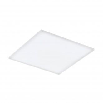 EGLO 98564 | EGLO-Connect-Turcona Eglo mennyezeti okos világítás négyzet távirányító szabályozható fényerő, állítható színhőmérséklet, színváltós 1x LED 4300lm 2700 <-> 6500K fehér