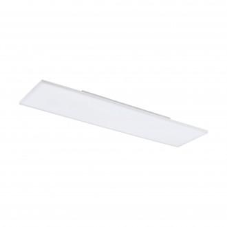 EGLO 98565 | EGLO-Connect-Turcona Eglo mennyezeti okos világítás téglalap távirányító szabályozható fényerő, állítható színhőmérséklet, színváltós 1x LED 3300lm 2700 <-> 6500K fehér