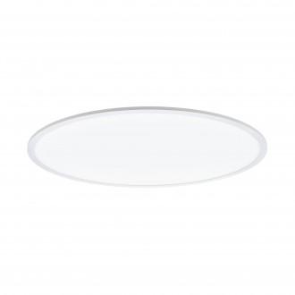 EGLO 98566 | EGLO-Connect-Sarsina Eglo mennyezeti okos világítás kerek távirányító szabályozható fényerő, állítható színhőmérséklet, színváltós 1x LED 5500lm 2700 <-> 6500K fehér