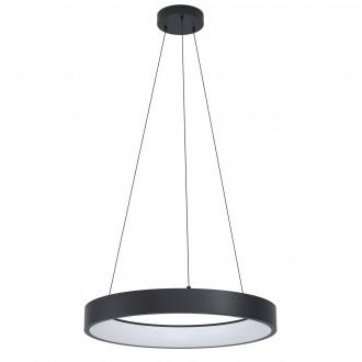 EGLO 99027   EGLO-Connect-Marghera Eglo függeszték okos világítás kerek szabályozható fényerő, állítható színhőmérséklet, színváltós, távirányítható 1x LED 3200lm 2700 <-> 6500K fekete, fehér