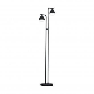EGLO 99036 | Palbieta Eglo álló lámpa 153cm taposókapcsoló 2x GU10 480lm 3000K fekete, szatén