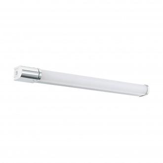 EGLO 99339 | Tragacete-1 Eglo fali lámpa téglatest kapcsoló dugaljjal ellátott 1x LED 1300lm 4000K IP44 króm, opál