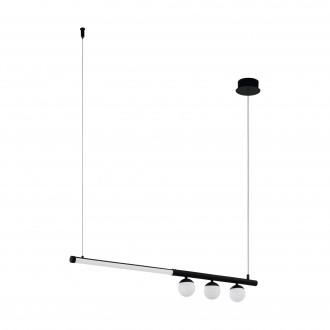 EGLO 99376 | Phianeros Eglo függeszték lámpa 1x LED 2700lm 3000K fekete, fehér
