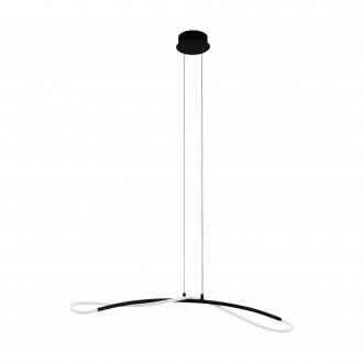 EGLO 99382 | Egidonella Eglo függeszték lámpa 1x LED 3250lm 3000K fekete, fehér