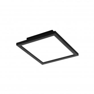 EGLO 99415 | EGLO-Connect-Salobrena Eglo álmennyezeti, mennyezeti, függeszték okos világítás négyzet távirányító szabályozható fényerő, állítható színhőmérséklet, színváltós 1x LED 2000lm 2700 <-> 6500K fekete, fehér