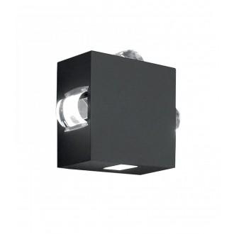 ELSTEAD AGNER 4W | Agner Elstead fali lámpa 1x LED 448lm IP54 grafit, átlátszó