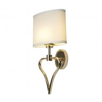 ELSTEAD BATH/FALMOUTH FG | Falmouth Elstead falikar lámpa 1x G9 320lm + 1x LED 70lm 3000K IP44 arany, fehér
