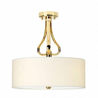 ELSTEAD BATH-FALMOUTH-SF-FG | Falmouth Elstead mennyezeti lámpa 3x G9 960lm 3000K IP44 arany, krémszín, fehér