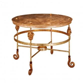 ELSTEAD FB/ARMORY CF/TBL | Elstead kiegészítő asztal kézzel festett antikolt arany
