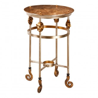 ELSTEAD FB/ARMORY S/TBL | Elstead kiegészítő asztal kézzel festett antikolt arany