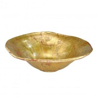ELSTEAD FB/BEAUVOIR BOWL | Elstead kiegészítő tál. kézzel festett antikolt arany, antikolt arany