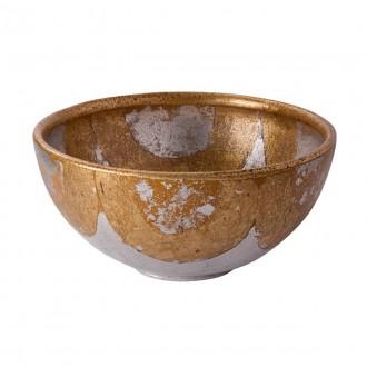 ELSTEAD FB/BELCHASE BOWL | Elstead kiegészítő tál. kézzel festett antikolt arany, antikolt arany