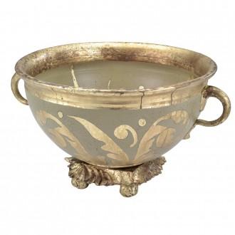 ELSTEAD FB-ROCHEBLAVE-BOWL | Elstead kiegészítő tál. kézzel festett antikolt arany, opál