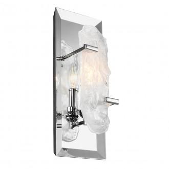 ELSTEAD FE/KATERINA CH | Katerina-EL Elstead fali lámpa 1x E14 szatén króm, kristály