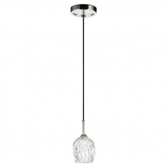 ELSTEAD FE/RUBIN/MP | Rubin-EL Elstead függeszték lámpa 1x G9 320lm 3000K szatén nikkel, átlátszó