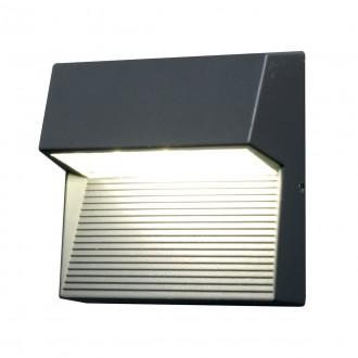 ELSTEAD FREYR-SQ | Freyr Elstead fali lámpa 1x LED 260lm IP54 grafit