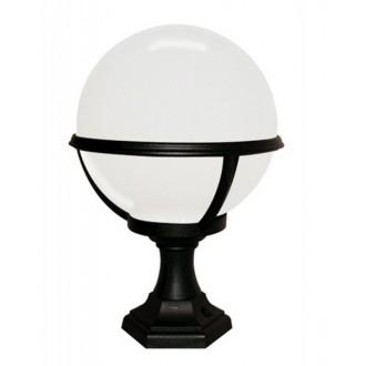ELSTEAD GLENBEIGH PED/PO | Glenbeigh Elstead álló lámpa 42cm tengerpartra tervezve 1x E27 IP44 UV fekete, opál