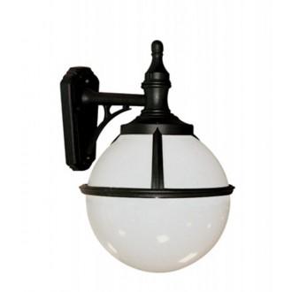 ELSTEAD GLENBEIGH WALL | Glenbeigh Elstead falikar lámpa tengerpartra tervezve 1x E27 IP44 UV fekete, opál