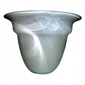 ELSTEAD GS81 | Glass-Shade Elstead búra lámpabúra fehér