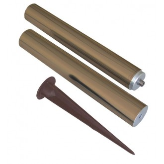 ELSTEAD GZ/ELITE POLE B | Bronze-Elite-Fusion Elstead lámpaoszlop alkatrész sárgaréz