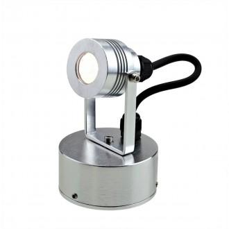 ELSTEAD GZ-ELITE3-S | Bronze-Elite-Fusion Elstead fali, mennyezeti lámpa elforgatható alkatrészek 1x LED 100lm 3000K IP54 eloxált alumínium, fekete