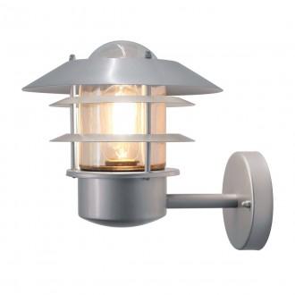 ELSTEAD HELSINGOR | Helsingor-Copenhagen Elstead falikar lámpa 1x E27 IP44 nemesacél, rozsdamentes acél