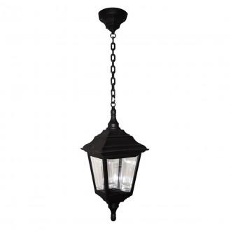 ELSTEAD KERRY CHAIN | Kerry Elstead függeszték lámpa tengerpartra tervezve 1x E27 IP44 UV fekete, átlátszó