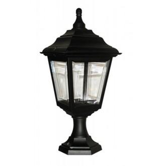 ELSTEAD KERRY PED/POR | Kerry Elstead álló, mennyezeti lámpa tengerpartra tervezve 1x E27 IP44 UV fekete, átlátszó