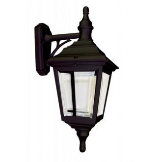 ELSTEAD KERRY WALL | Kerry Elstead falikar lámpa tengerpartra tervezve 1x E27 IP44 UV fekete, átlátszó