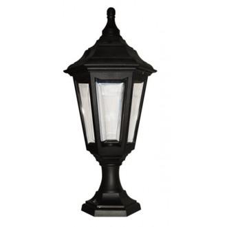 ELSTEAD KINSALE PED/POR | Kinsale Elstead álló, mennyezeti lámpa tengerpartra tervezve 1x E27 IP44 UV fekete, átlátszó