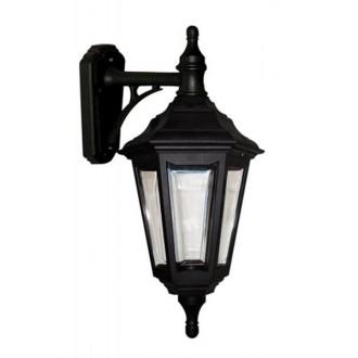 ELSTEAD KINSALE WALL | Kinsale Elstead falikar lámpa tengerpartra tervezve 1x E27 IP44 UV fekete, átlátszó