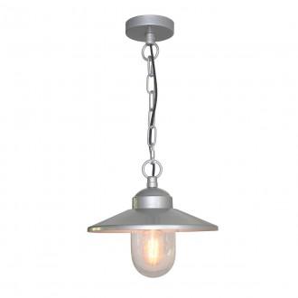 ELSTEAD KLAMPENBORG8 | Klampenborg Elstead függeszték lámpa 1x E27 IP44 nemesacél, rozsdamentes acél, átlátszó