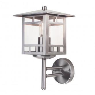 ELSTEAD KOLNE | Kolne Elstead falikar lámpa 1x E27 IP44 nemesacél, rozsdamentes acél, átlátszó
