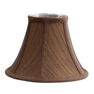 ELSTEAD LS150 | Clip-Shades Elstead ernyő lámpabúra kézzel készült barna, fehér