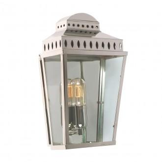 ELSTEAD MANSION HOUSE PN | Mansion-House Elstead fali lámpa tengerpartra tervezve, kézzel készült 1x E27 IP44 UV szatén nikkel, átlátszó