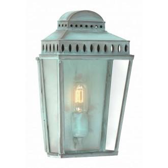 ELSTEAD MANSION HOUSE V | Mansion-House Elstead fali lámpa tengerpartra tervezve, kézzel készült 1x E27 IP44 UV antik, átlátszó