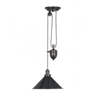 ELSTEAD PV-P-OB | Provence-EL Elstead függeszték lámpa ellensúlyos, állítható magasság 1x E27 antikolt bronz